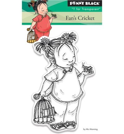 Penny Black - Clearstamp - Fran`s cricket