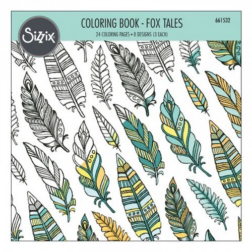 Sizzix - Colouring Book - Fox Tales