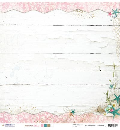 Studio Light - Romantic Summer - Scrapvel SCRAPRS04