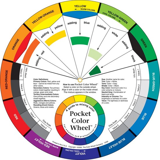 Color Wheel - Pocket Color Wheel