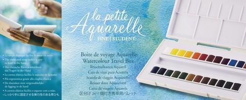 Sennelier - La Petite Aquarelle - set 24 halve napjes N131681.00