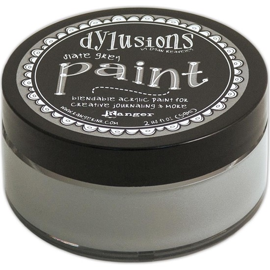Dyan Reaveley`s - Dylusions Paint - Slate Grey