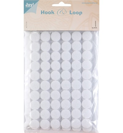 Joy! Crafts - Hook en Loop - Klittenband Rond 15mm