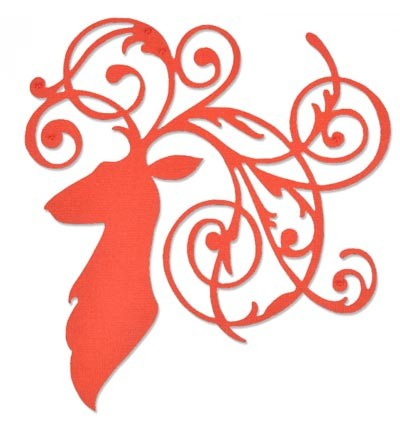 Sizzix - Thinlits - Elegant Deer