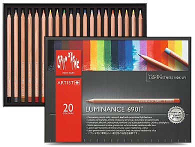 Kleurpotlood Caran d`Ache - Luminance 6901 - Set á 20 stuks