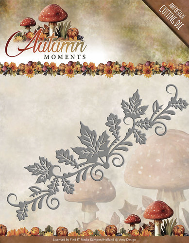 Stansmal - Amy Design - Autumn Moments - Leaves Border