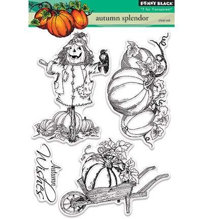 Penny Black - Clearstamp - Autumn Splendor