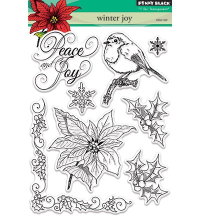 Penny Black - Clearstamp - Winter Joy