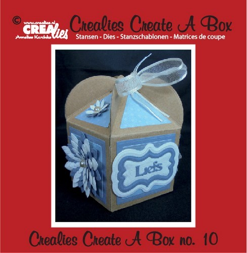 Stansmal - Crealies - Create A Box - no. 10 Fantasiedoos