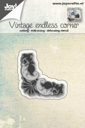 Joy! Crafts - Cutting & Embossing stencil - Hoekje Endless vintage