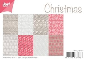 Joy! Crafts - Paperpad A4 - Kerst