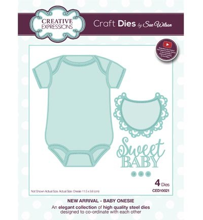 Stansmal - Creative Expressions - The New Arrival Collection - Baby Onesie