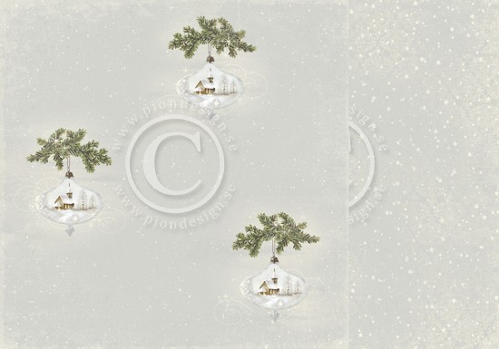 PION Design - Greetings from the North Pole - In the Christmas tree
