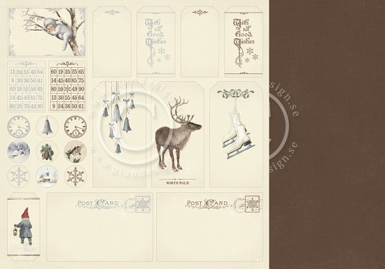 PION Design - Greetings from the North Pole - Tags