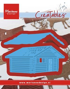Marianne Design - Creatable Tiny`s log cabin