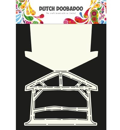 Dutch Doobadoo - Dutch Card Art - Kerststal
