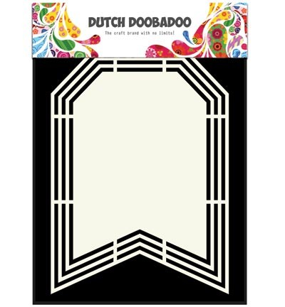 Dutch Doobadoo - Dutch Shape Art - Flag