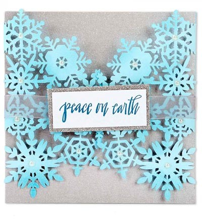 Sizzix - Thinlits Die Set - Snowflake Card