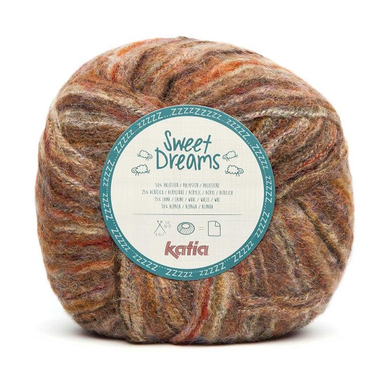 Breiwol Katia - Sweet Dreams - Kleur 201
