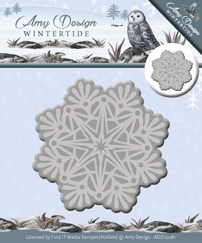 Stansmal Amy Design - Wintertide - Ice Crystal