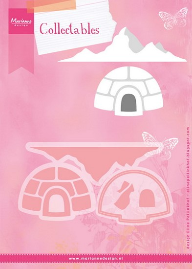 Marianne Design - Collectable - Eline`s Igloo and Mountain