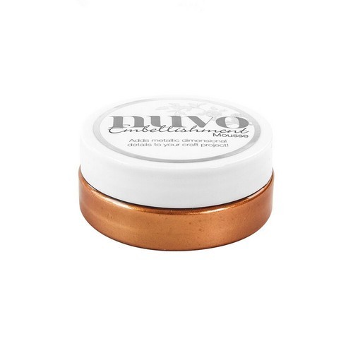 Nuvo - Embellishment Mousse - Fresh Copper