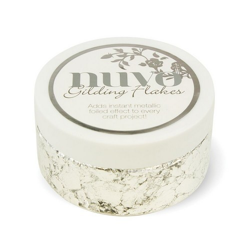 Nuvo - Gilding Flakes 200ml - Silver Bullion