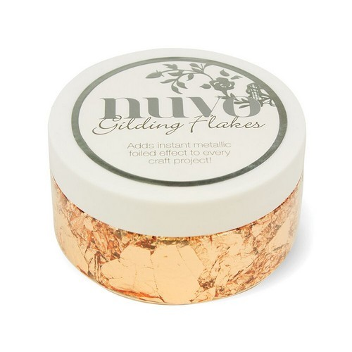 Nuvo - Gilding Flakes 200ml - Sunkissed Copper