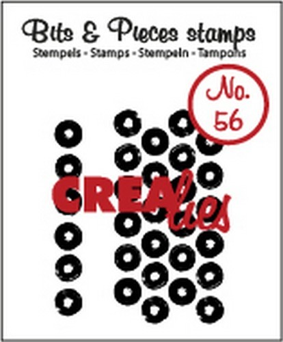 Clearstamp Crealies - Bits & Pieces - No 56 Big dots