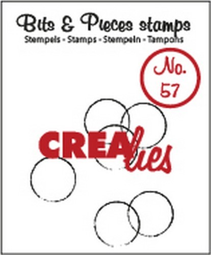 Clearstamp Crealies - Bits & Pieces - No 57 Grunge Circles