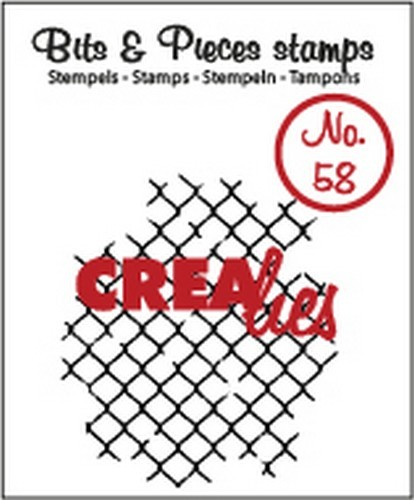 Clearstamp Crealies - Bits & Pieces - No 58 Thin mesh