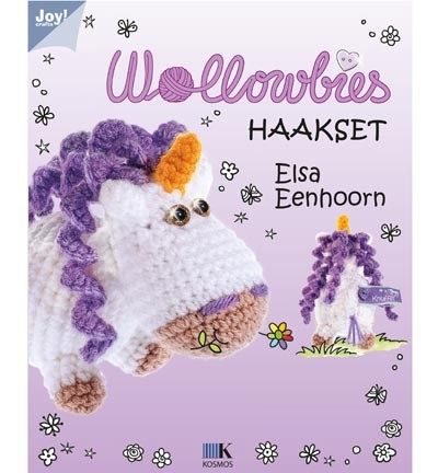 Haakpakket Joy! Crafts - Wollowbies  Elsa Eenhoorn