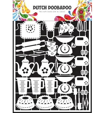 Dutch Doobadoo - Dutch Paper Art - Baking