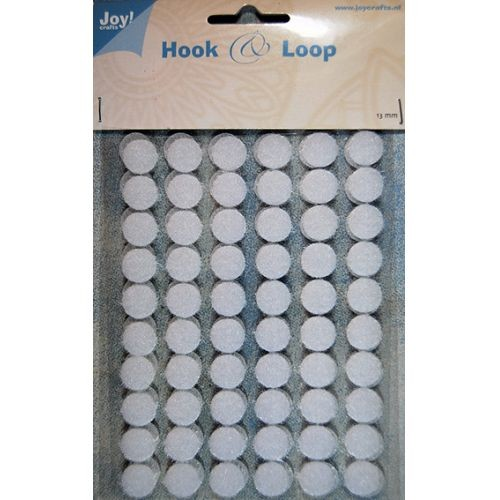 Joy! Crafts - Hook en Loop - Klittenband Rond 13mm
