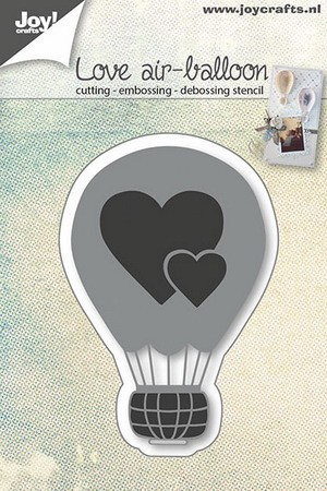 Joy! Crafts - Cutting&Embossing&Debossing - Love balloon