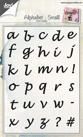 Joy! Crafts - Clearstamp Alphabet: Small