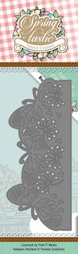 Stansmal Yvonne Creations - Spring-tastic - Butterfly Border