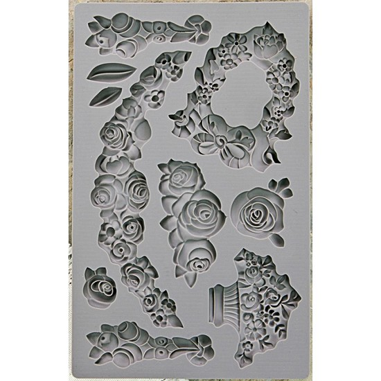 Prima Marketing - Vintage Art Decor Moulds - Fleur