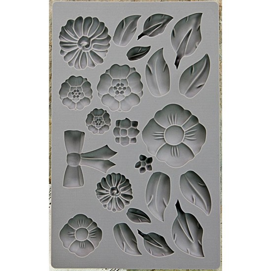 Prima Marketing - Vintage Art Decor Moulds - Rustic Fleur