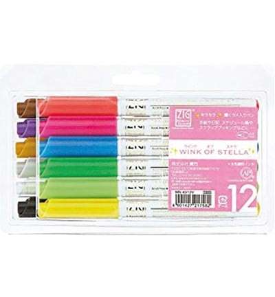 Wink of Stella - Glitter gelpen - set 12 colours