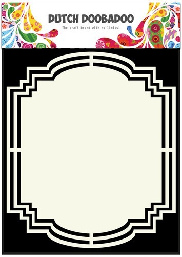 Dutch Doobadoo - Dutch Shape Art - Frames label 2