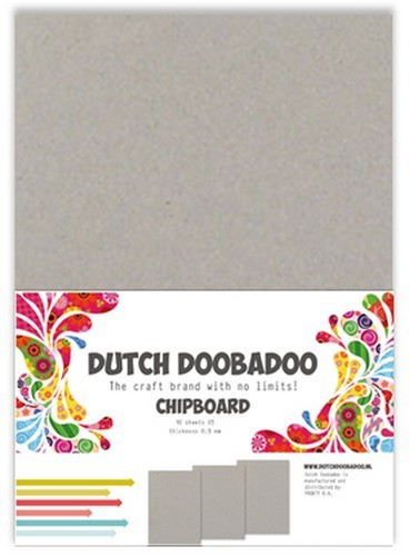 Dutch Doobadoo - Dutch Greyboard Art - A5 10 vel
