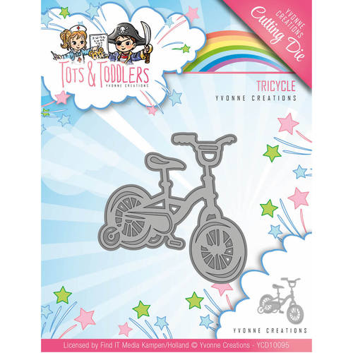 Stansmal Yvonne Creations - Tots and Toddlers - Tricycle