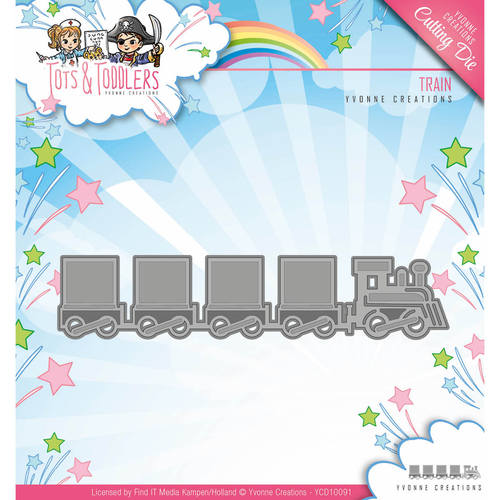Stansmal Yvonne Creations - Tots and Toddlers - Train