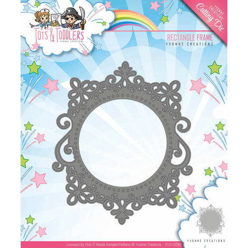 Stansmal Yvonne Creations - Tots and Toddlers - Rectangle Frame