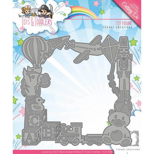 Stansmal Yvonne Creations - Tots and Toddlers - Toy Frame