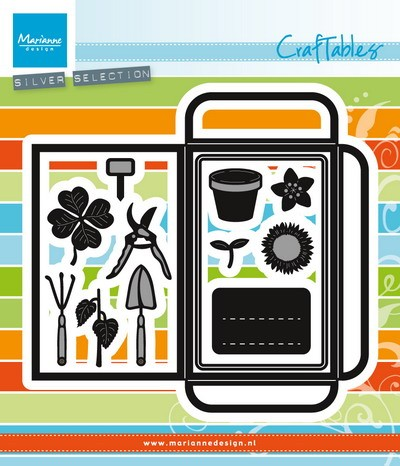 Marianne Design - Craftable - Seed Pocket & Garden Tools