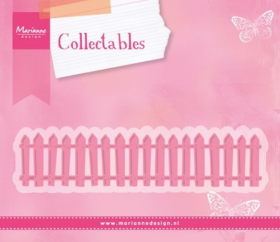 Marianne Design - Collectable - White Picket Fence