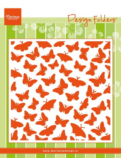 Marianne Design - Design Folder - Butterflies