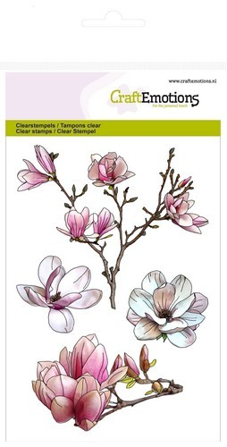 Clearstamp CraftEmotions - A6 - Magnolia